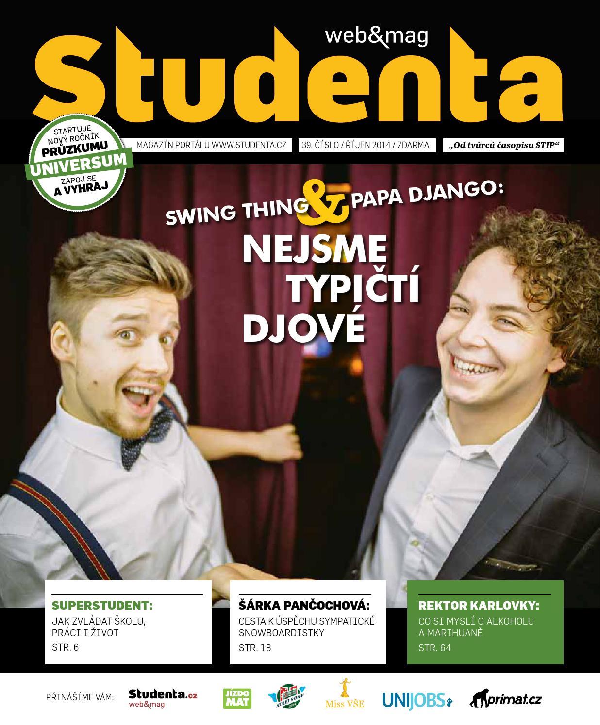 f294b8711ae Studenta 39 Říjen 2014 by Studenta - issuu