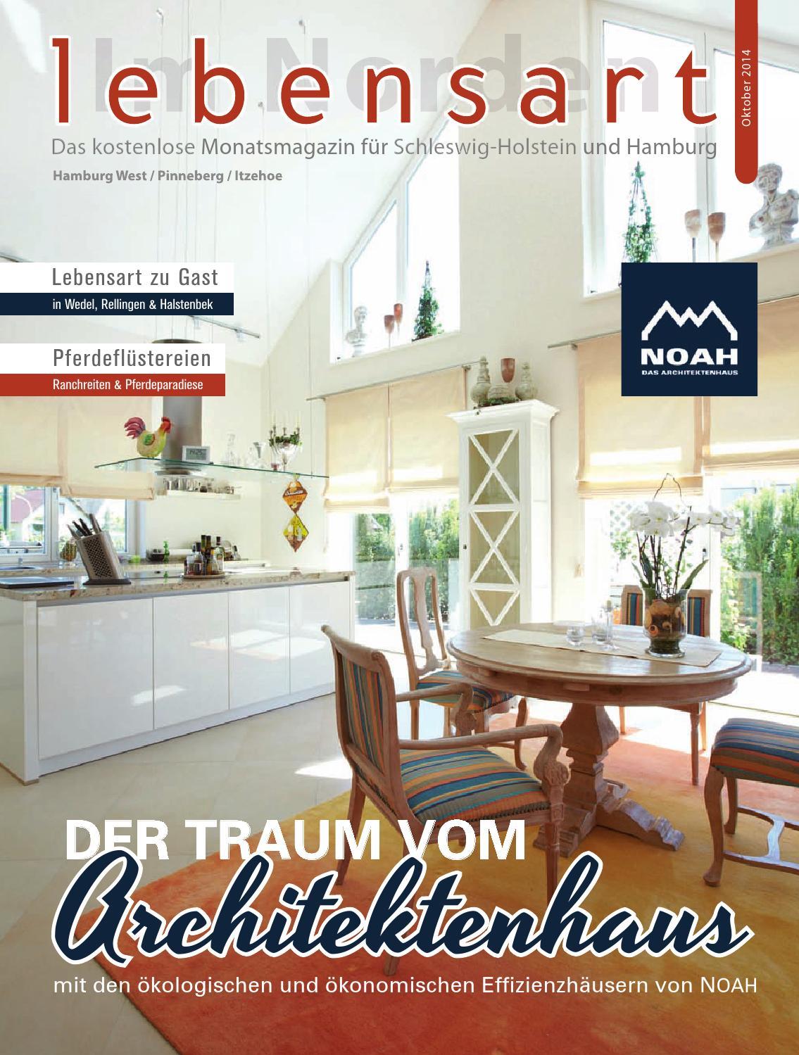Lebensart im Norden, Ausgabe Hamburg West Oktober 2014 by ...