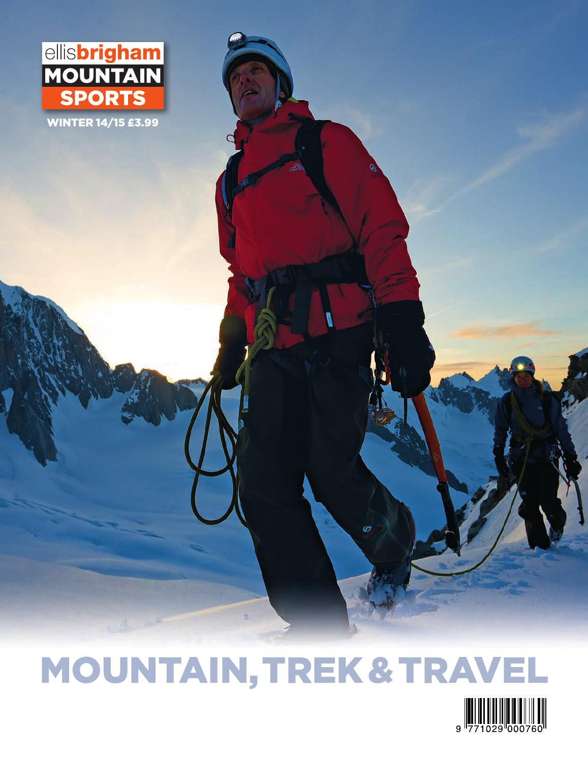 Mountain Trek & Travel Winter 2014/15 by Ellis Brigham ...
