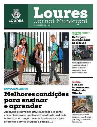 a57ba3ab1 Loures, Jornal Municipal N.º 02 by Publicações_CMLoures - issuu