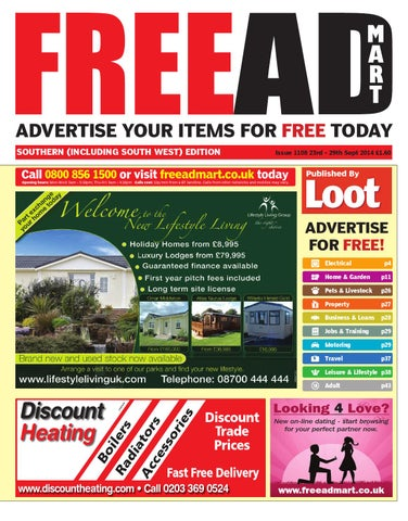 Free Ad Mart South 23rd September 2014 by Loot - issuu dcd6abea7
