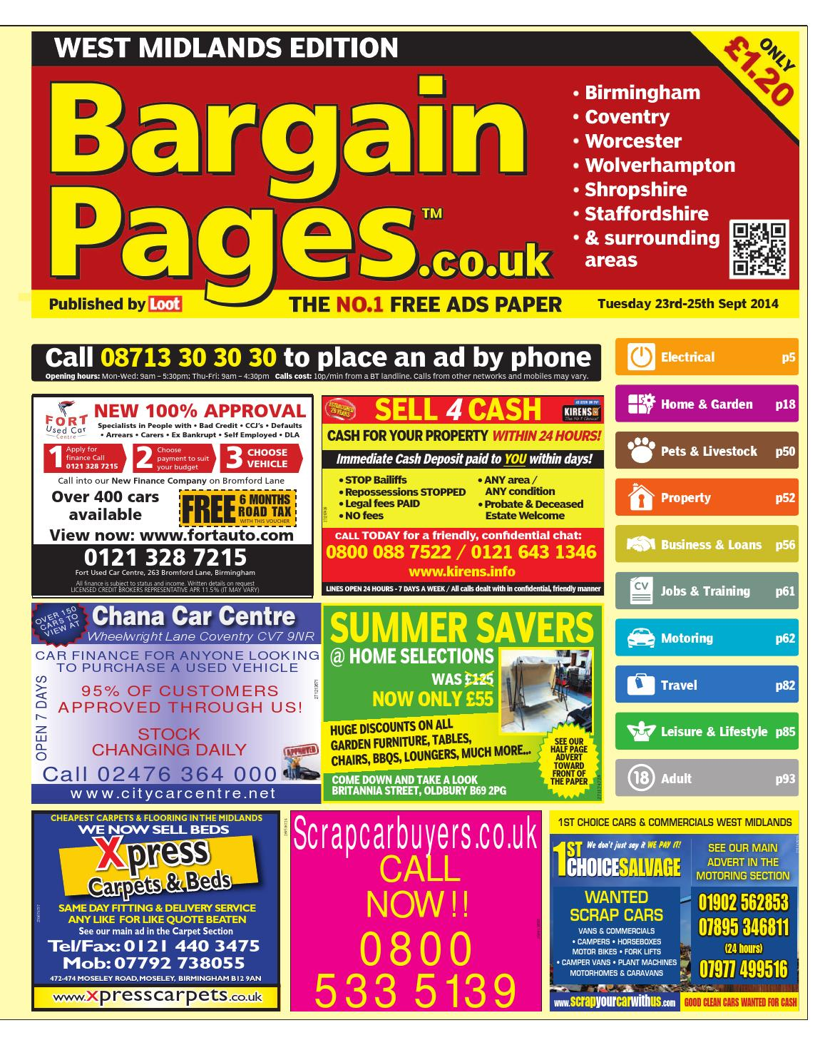 994785fc8 Bargain Pages Birmingham 23rd September 2014 by Loot - issuu