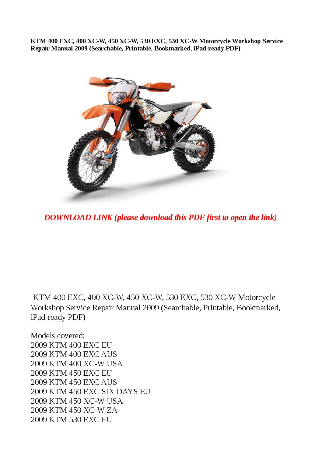 Ktm 450 Repair Manual 2013 Xc W Wiring Diagram Improve Experience Aid Analyze Typical Pattern Visitors Looking Cyclepedia An Officially Licensed Authorized Distributor Legacy Owners Moto List
