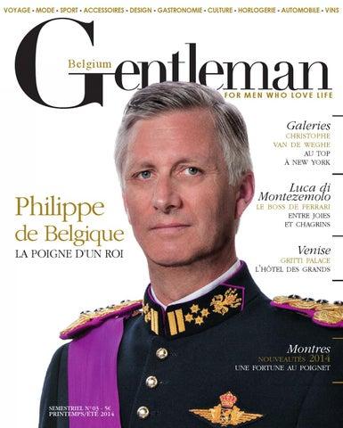 Gentleman Belgique n°3 by gentlemanmag.be - issuu 5934db505a59