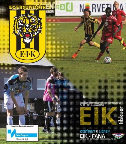 29c43595 Program EIK - Fana, 27. september 2014 by EIK fotball - issuu