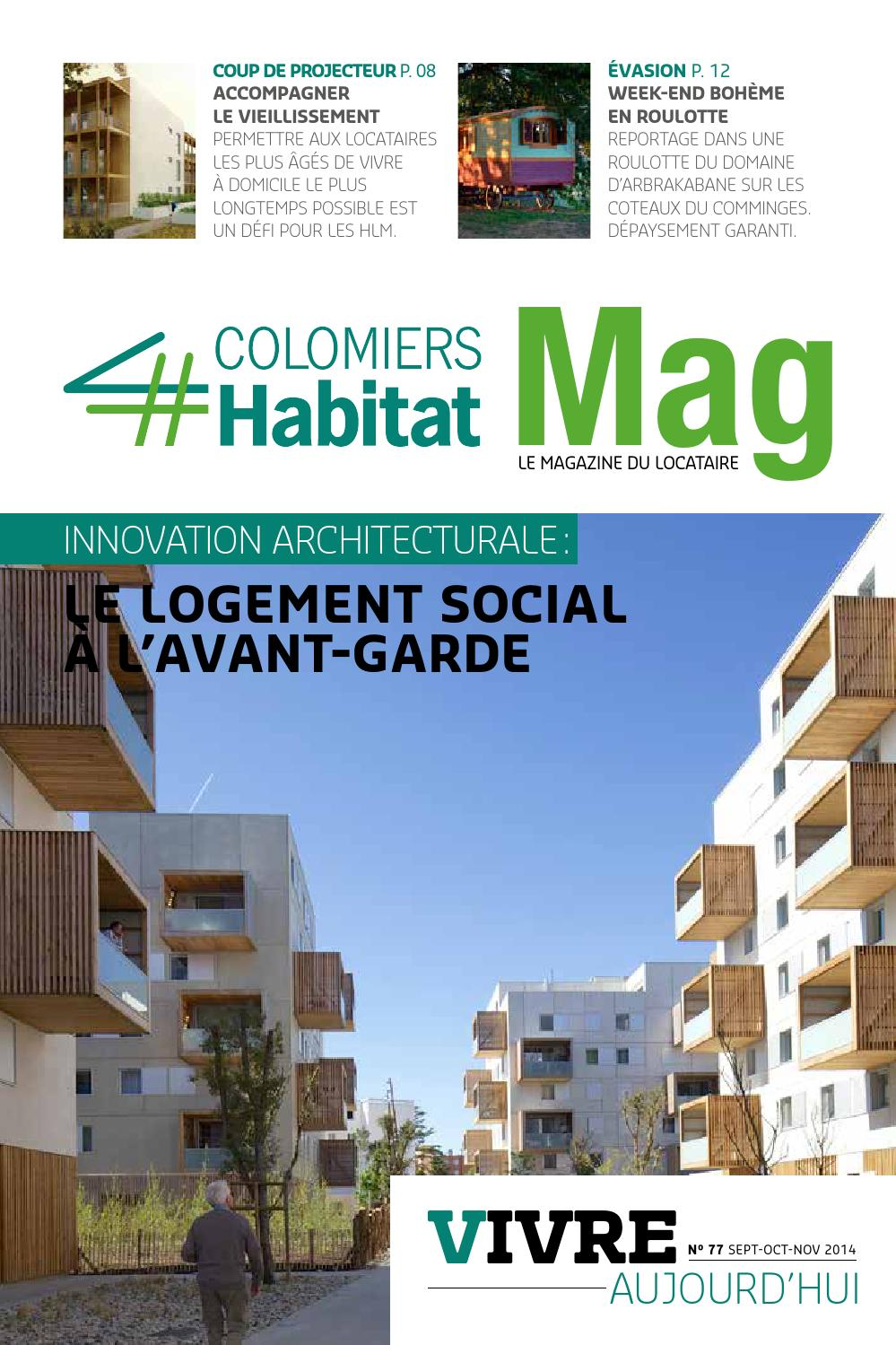 colomiers habitat magazine vivre aujourd 39 hui n 77 by agenceicom issuu. Black Bedroom Furniture Sets. Home Design Ideas