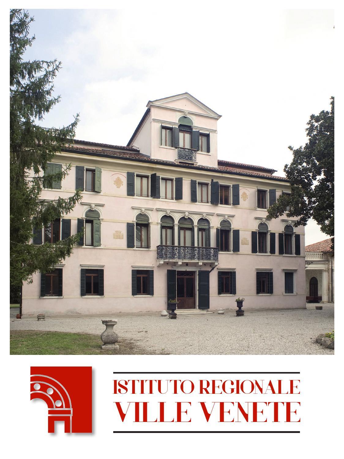 Istituto Regionale Ville Venete.Istituto Regionale Ville Venete Ottobre 2014 By Istituto