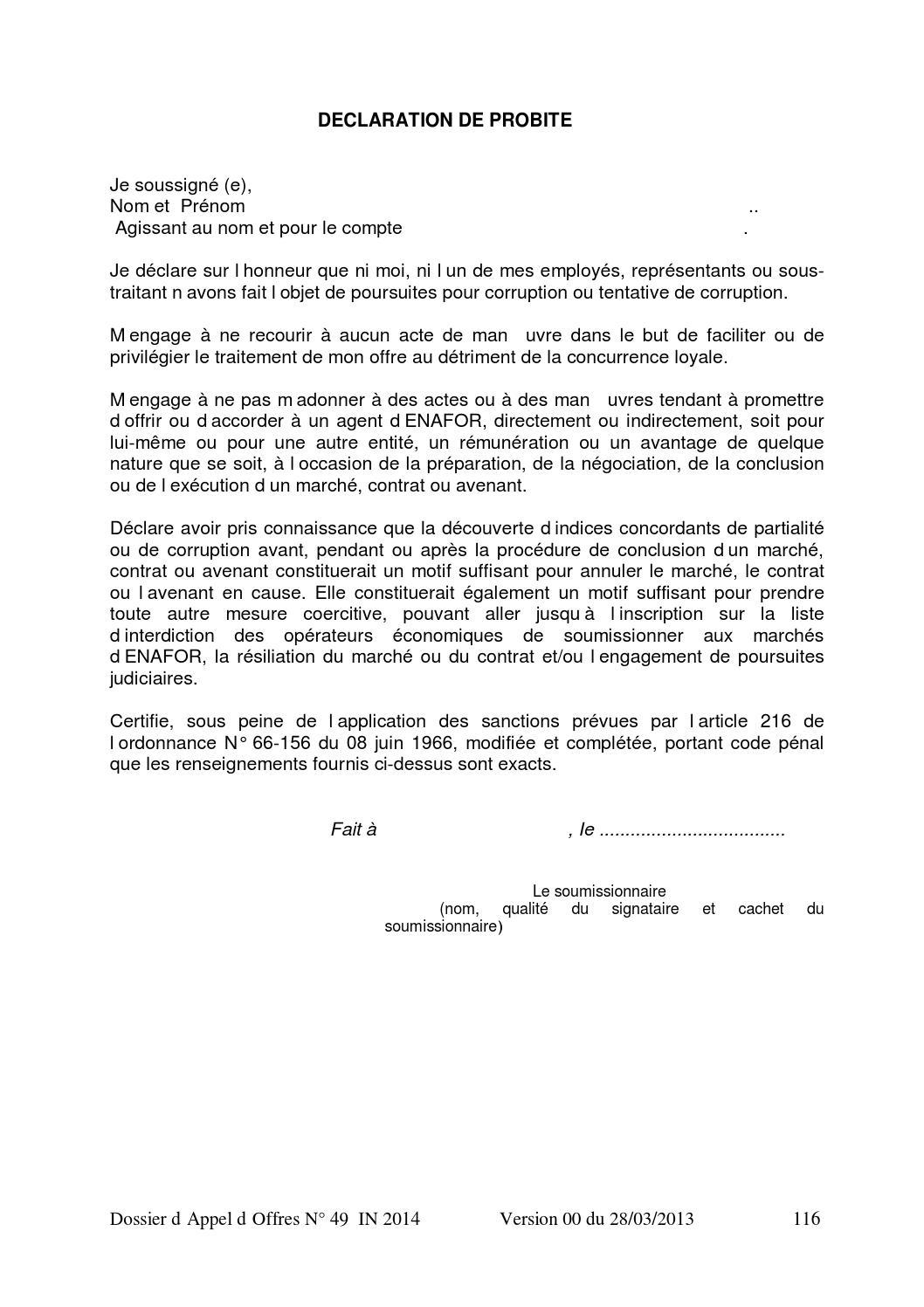 Cahier Des Charges Enafor Hmd By Elmounakassa Issuu