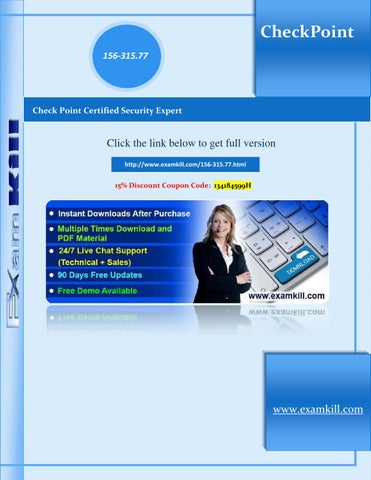 156 315 77 examkill latest certification tests by