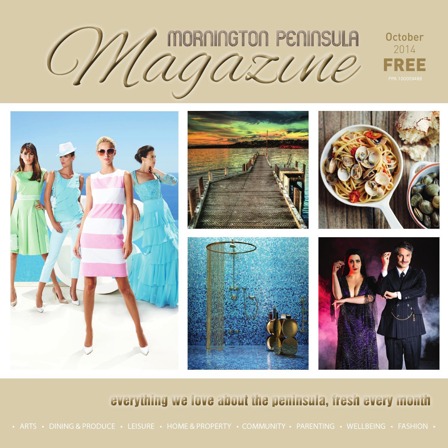 Mornington Peninsula Magazine October 2014 by Mornington Peninsula Magazine  - issuu