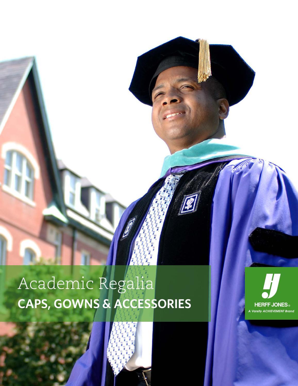 Academic Regalia Catalog 2015 by Herff Jones - issuu