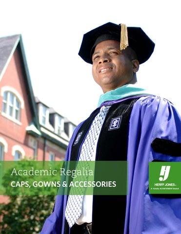 Academic Regalia Catalog 2015 By Herff Jones Issuu