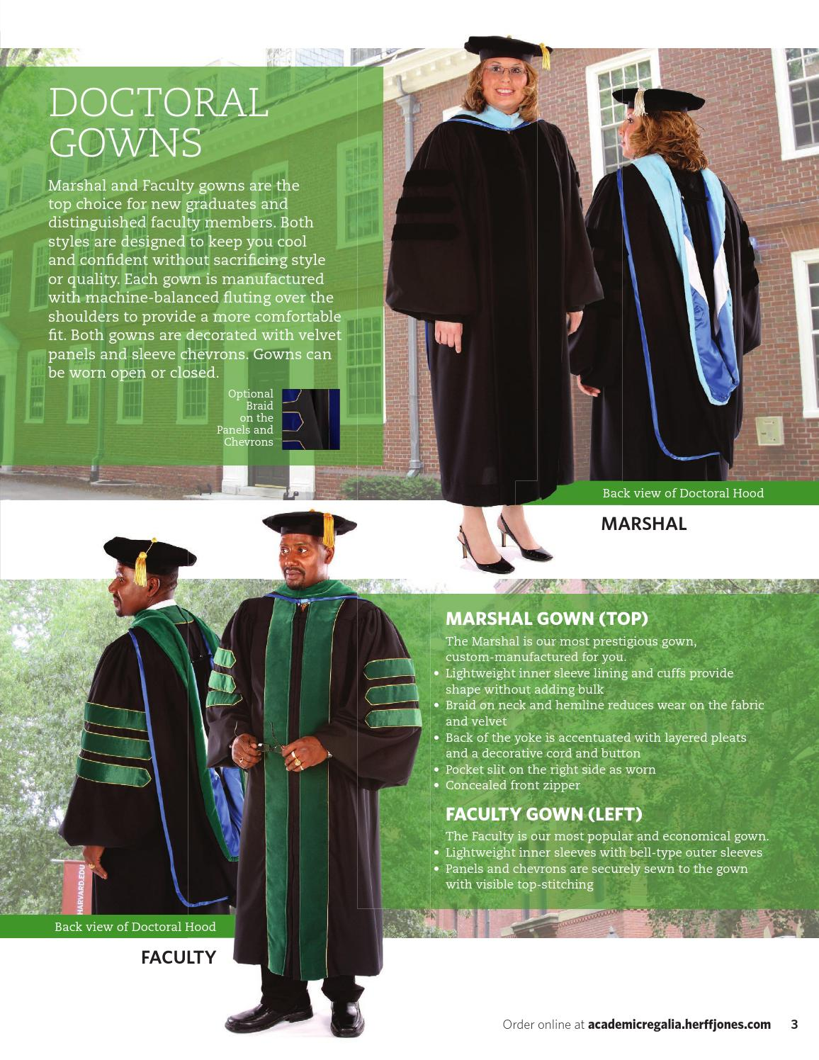 Academic Regalia Catalog 2015 by Herff Jones - issuu