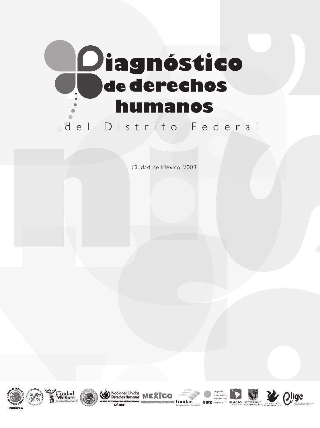 Diagnóstico de derechos humanos del Distrito Federal by ONU-DH ...
