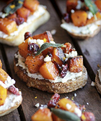 Page 9 of Caramelized Butternut Squash & Gorgonzola Crostini