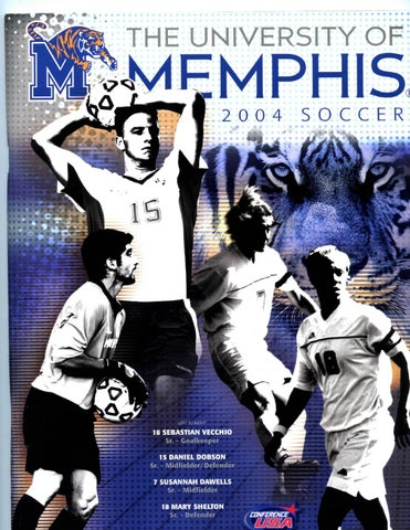 ce908f065a2 2004 Memphis Soccer Media Guide by University of Memphis Athletic ...