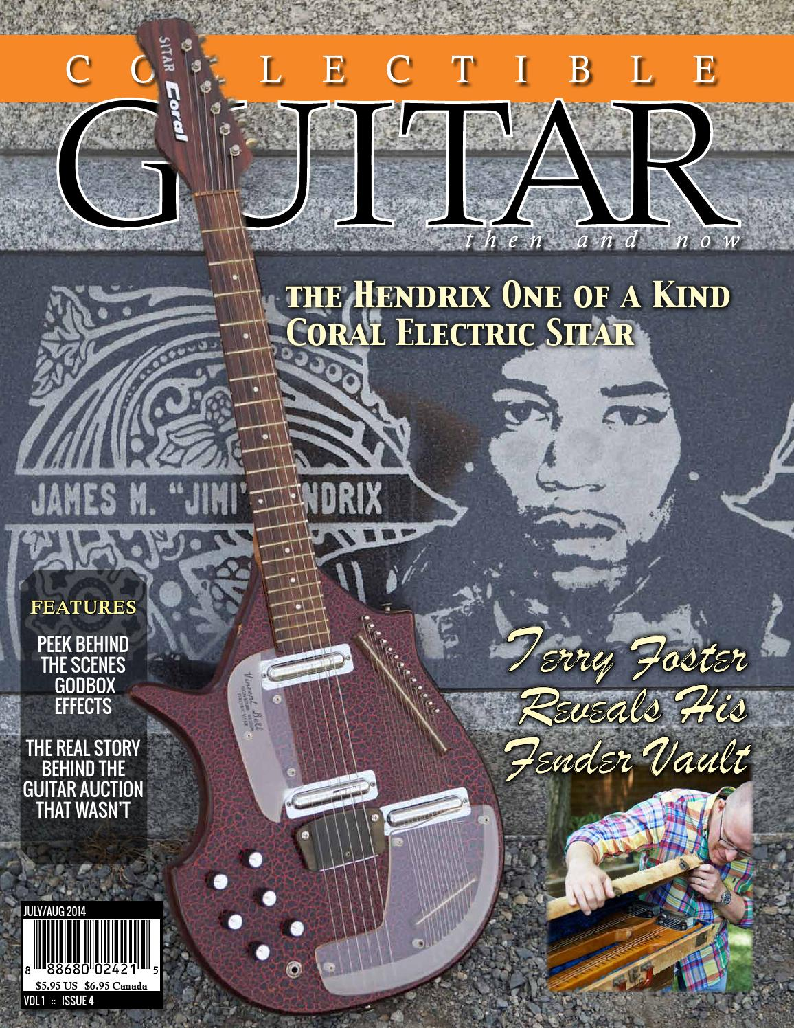 Collectible Guitar :: Then and Now - Jul/Aug 2014 by Collectible ...