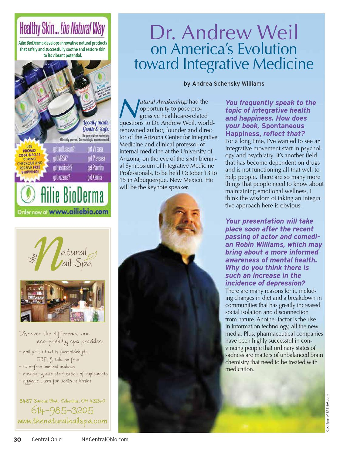 Natural Awakenings of Central Ohio - October 2014 issue