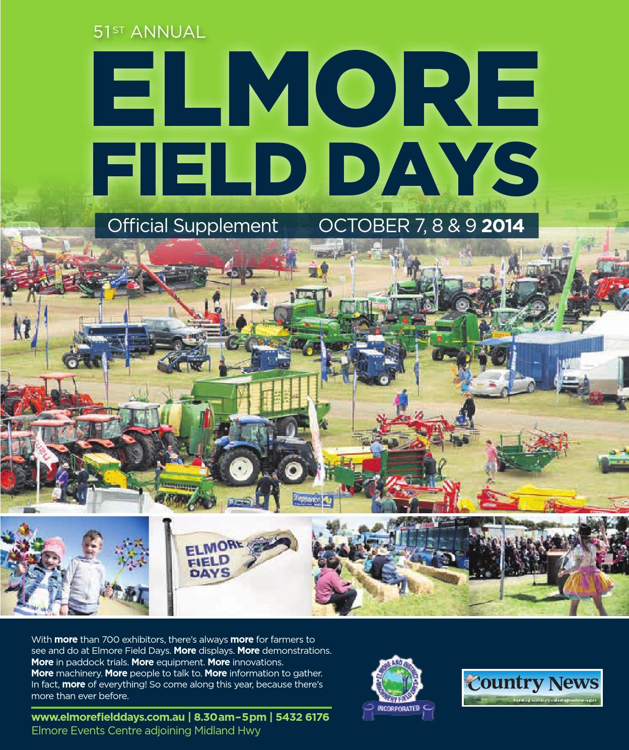 Elmore Field Days 2014 Low Res By Mcpherson Media Group Issuu Dogmaster Trainers Products Electric Fence Fencing