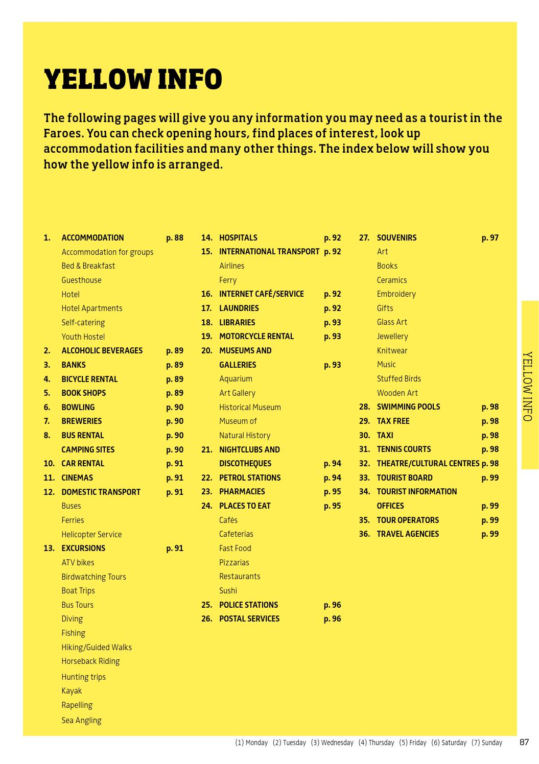 The Yellow Pages 2015 by Sansir A/S - issuu