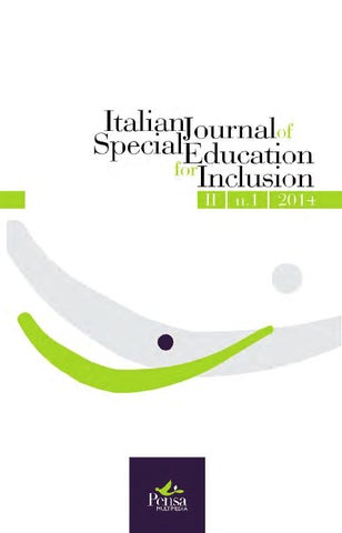 Italian journal of special education for inclusion n 1 2014 by page 1 fandeluxe Images