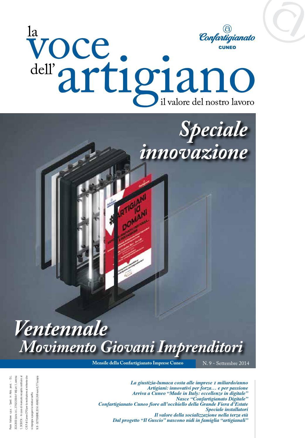 La Voce dell Artigiano - Settembre 2014 by Confartigianato Cuneo - issuu 6f0687b97ec4