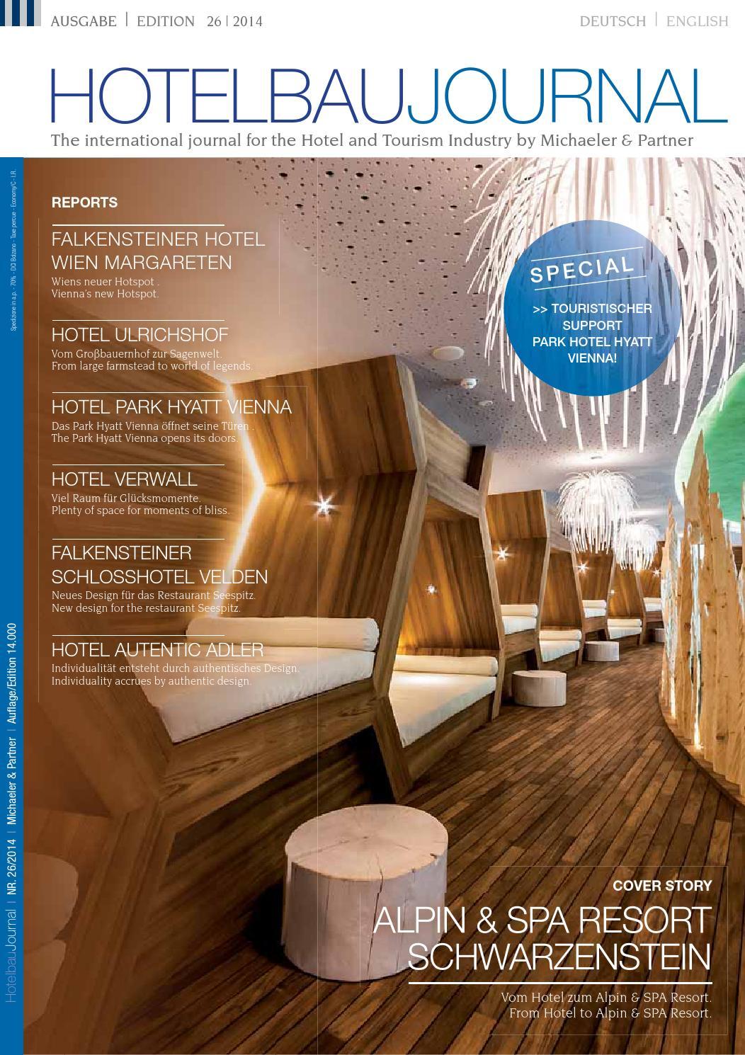 Michaeler & Partner HOTELBAU JOURNAL 26 by Michaeler & Partner - issuu
