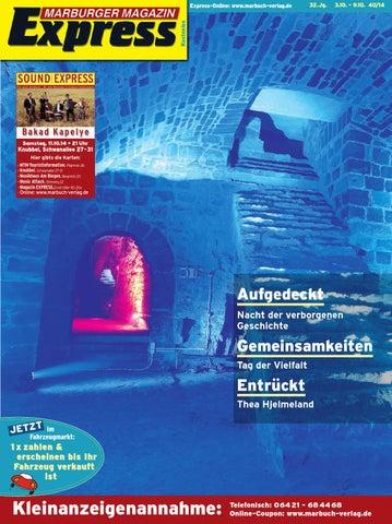 Marburger Magazin Express 40/2014 by Ulrich Butterweck - issuu