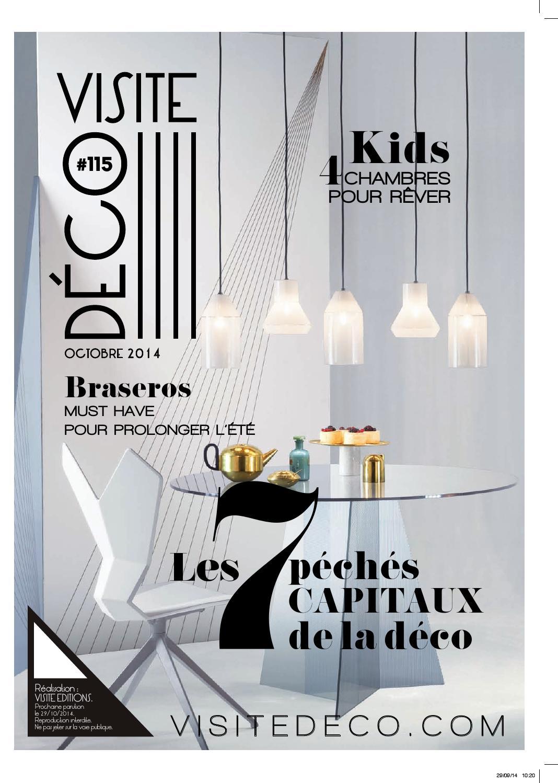 Visite d co n 115 by visite editions issuu - Magazine de decoration interieure gratuit ...