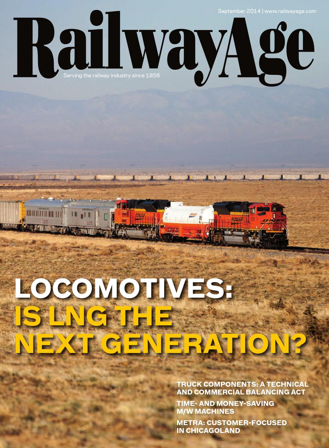 September 2014 Railway Age By Issuu My House Has A Generator Transfer Switch Protran 30310b Attached To