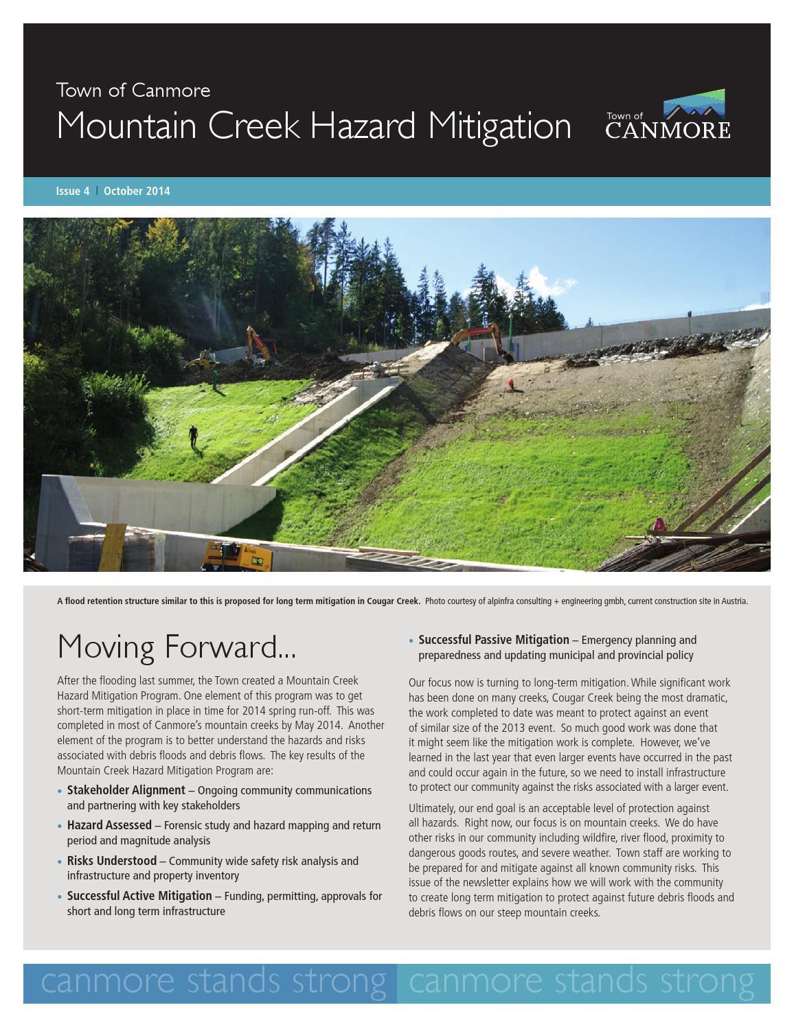 Alberta Gets Federal Disaster Mitigation Funding - Gateway ...
