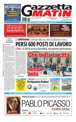 Gazzetta Matin del 29 settembre 2014 by NewsVDA - issuu 92e3d826a14