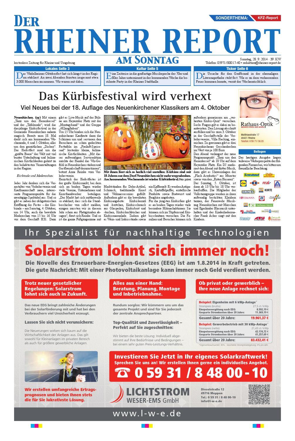 KW39-2014 by Rheiner Report GmbH - issuu