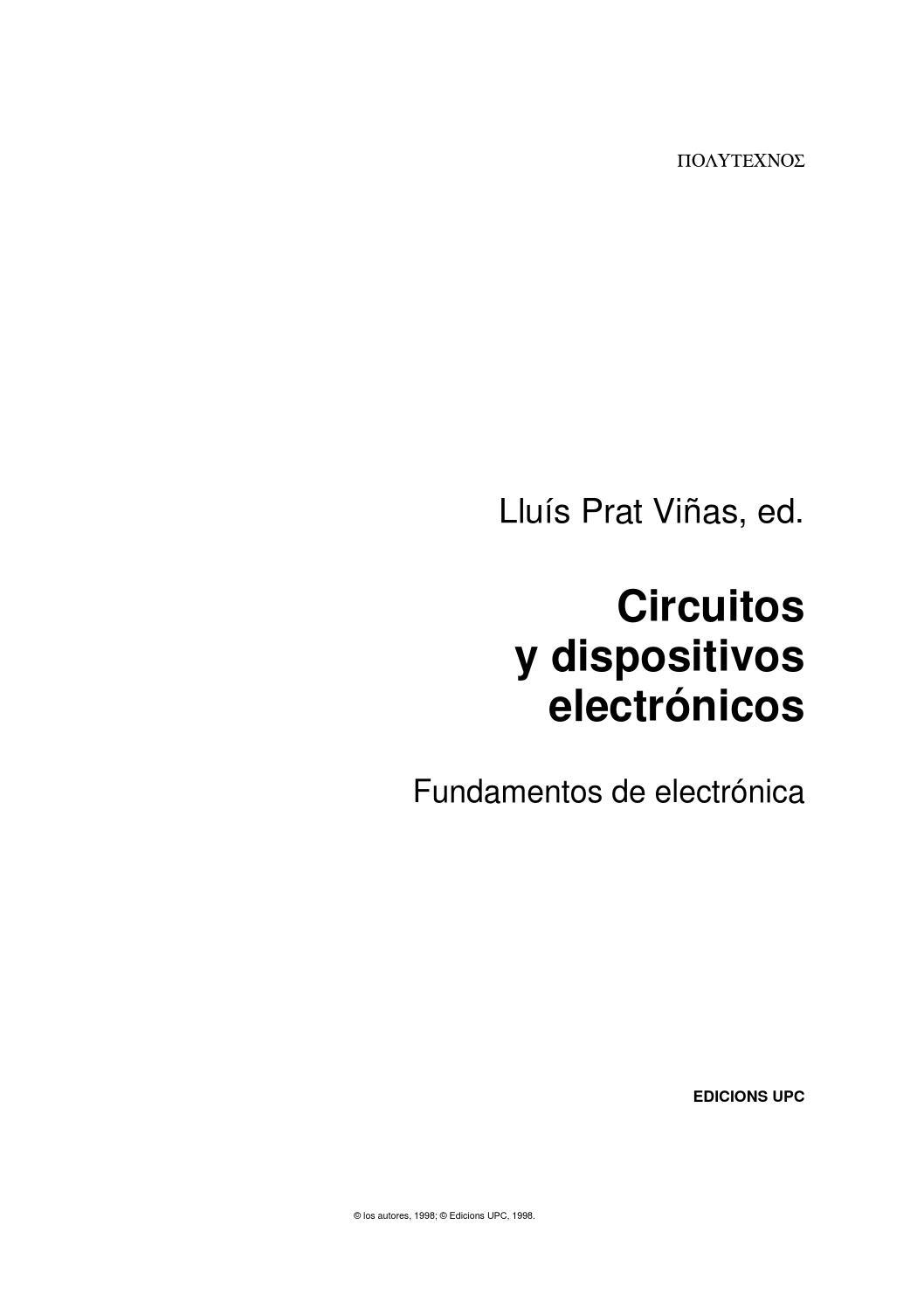 Circuito Optoacoplador : Circuitos y dispositivos electronicos by ebenezeraviation issuu