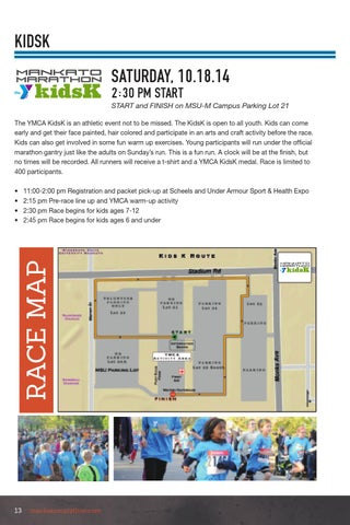 Under Armour Campus Map.Marathon By Free Press Media Issuu