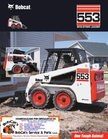 Bobcat 553 by BobCat's Service & Parts S A C  - issuu