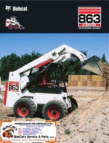 Bobcat 863G by BobCat's Service & Parts S A C  - issuu