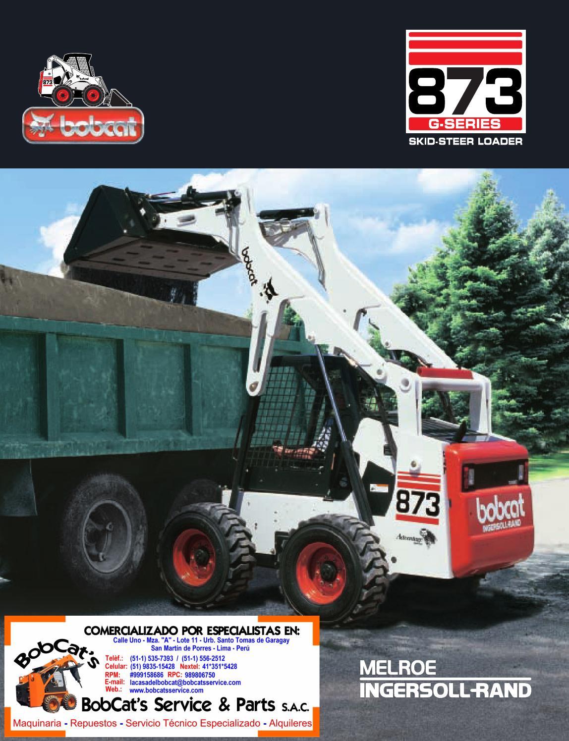 873 bobcat engine - 873 Bobcat Engine 50