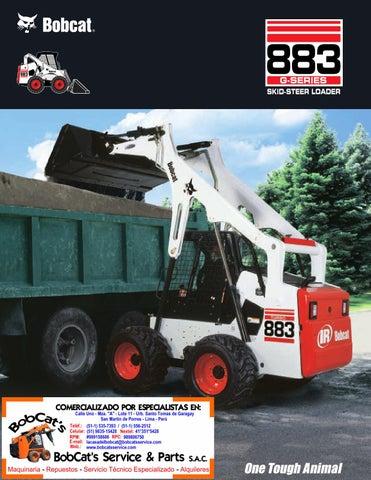 Bobcat 883G by BobCat's Service & Parts S A C  - issuu