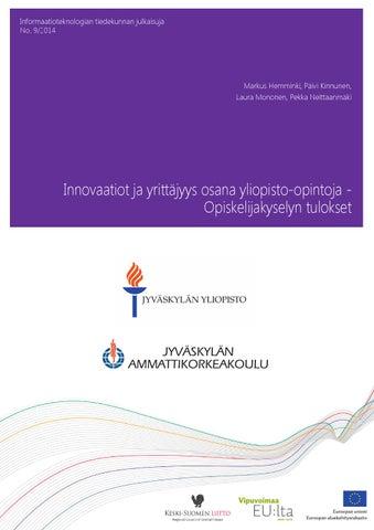 Innovaatiot ja yrittäjyys osana yliopisto-opintoja by University of ... 3f62aaaec4