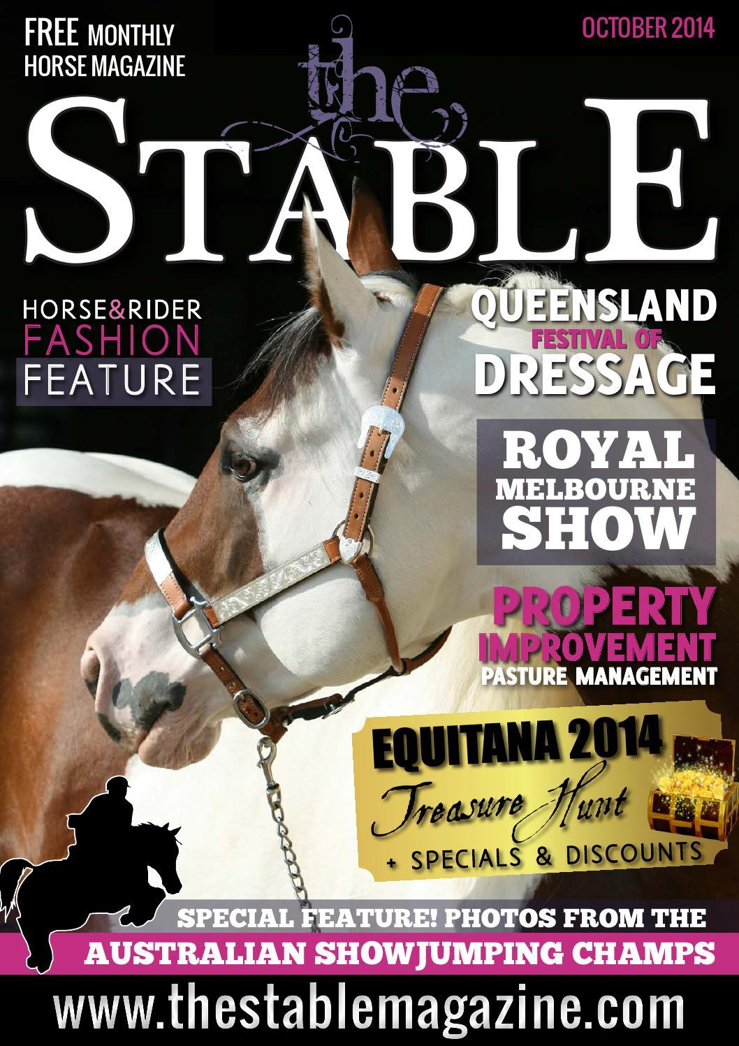 The Stable Magazine October 2014 By Thestablemagazine