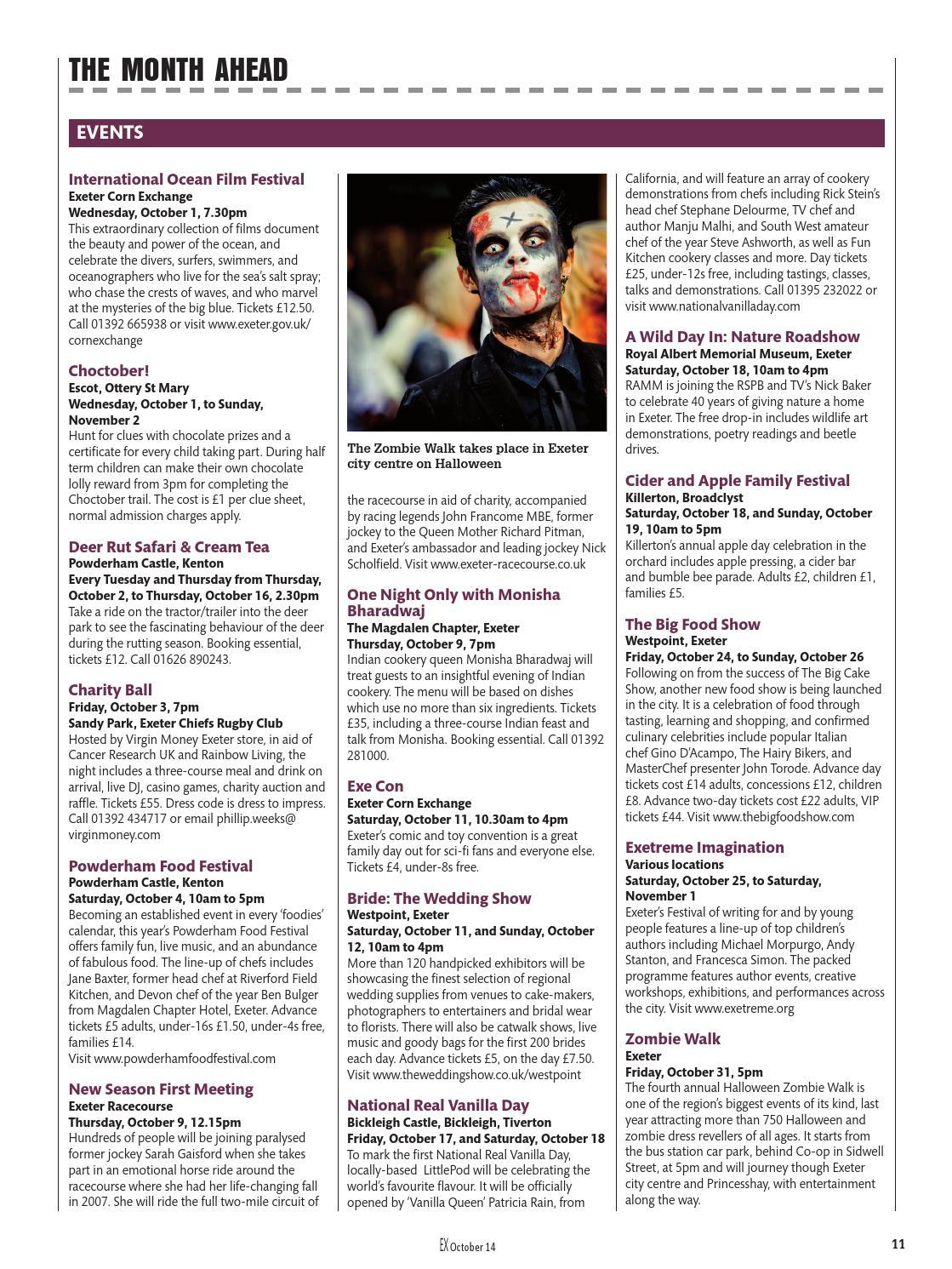 Ex Magazine October 2014 By Dcmedia Issuu