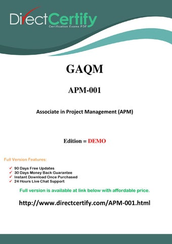 Apm 001 directcertify certification test by mitchellsteven issuu directcertify it certification exams pdf yelopaper Gallery