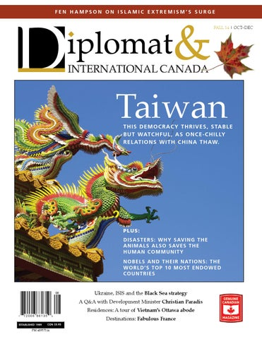 quality design 89b26 b1b6b Diplomat   International Canada - October 2014 by Diplomatonline.com ...