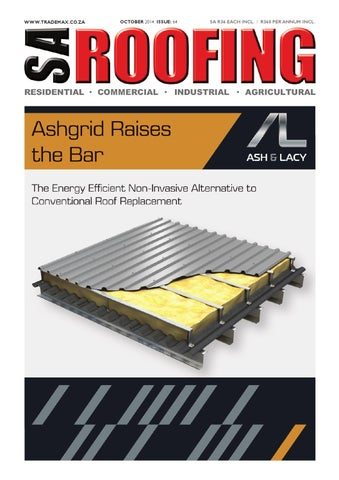 SA Roofing October 2014   Issue: 64 by Trademax Publications - issuu