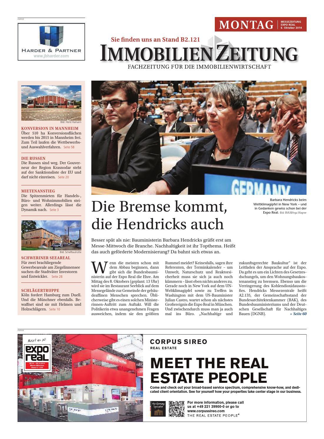 a76006c02f189f Oktober 2014 by Immobilien Zeitung Verlagsgesellschaft mbH - issuu