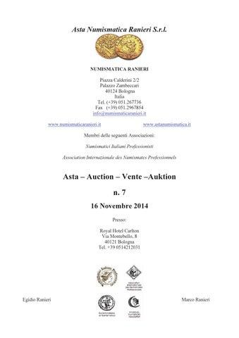7ef708494b Asta Numismatica Ranieri n. 7 by Numismatica Ranieri - issuu