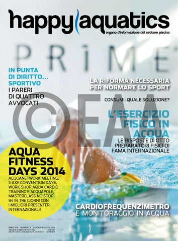 ab058f506784 Happy Aquatics n. 3 anno 2014 - ITA by Happy Aquatics & Wellness - issuu
