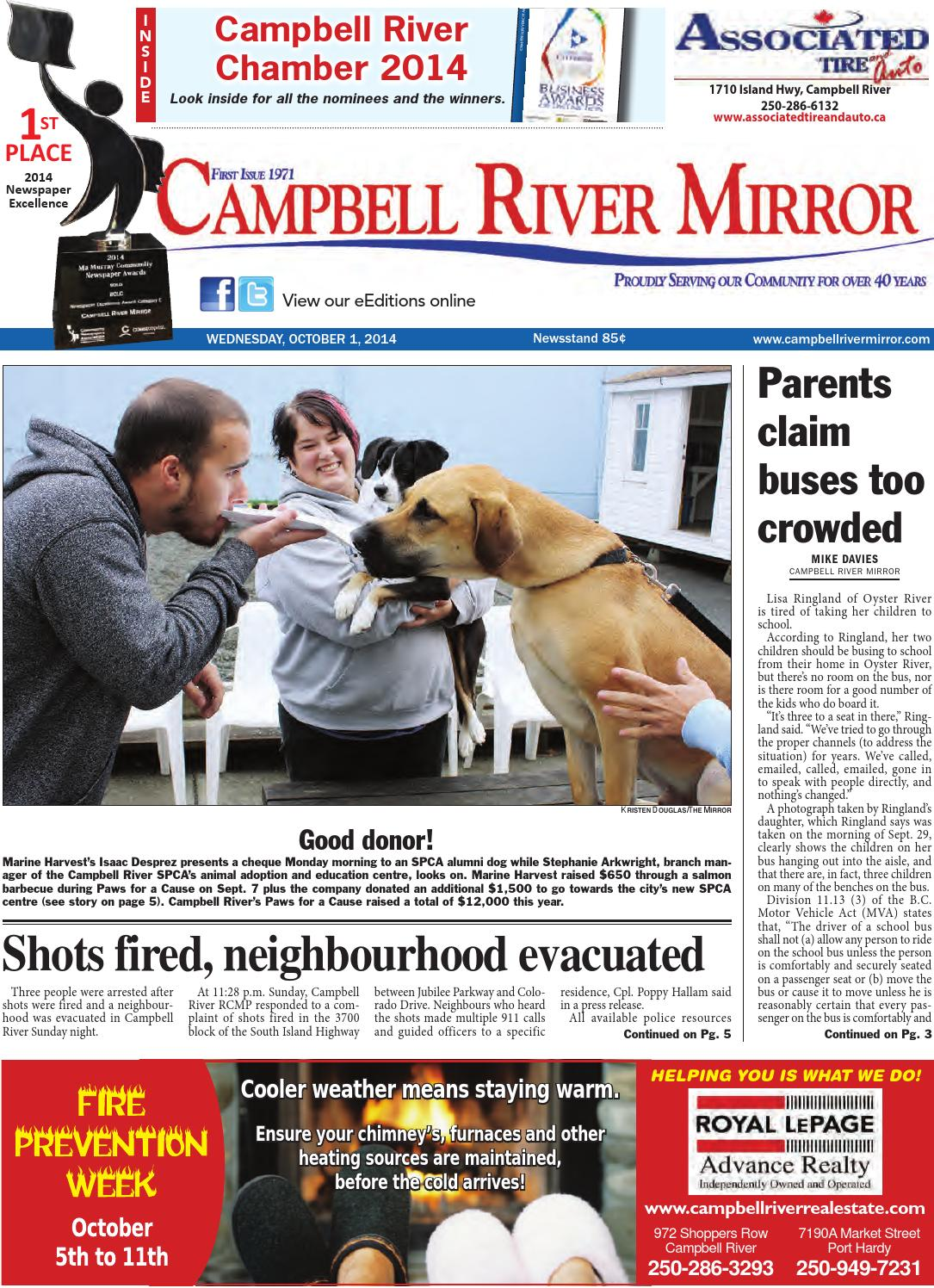 Campbell River Mirror, October 01, 2014 by Black Press - issuu bb08c34624