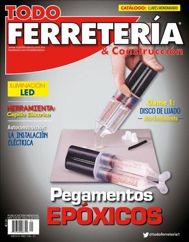 aaa7caf8aed EDIC. 31 PEGAMENTOS EPÓXICOS by TODO FERRETERÍA - issuu
